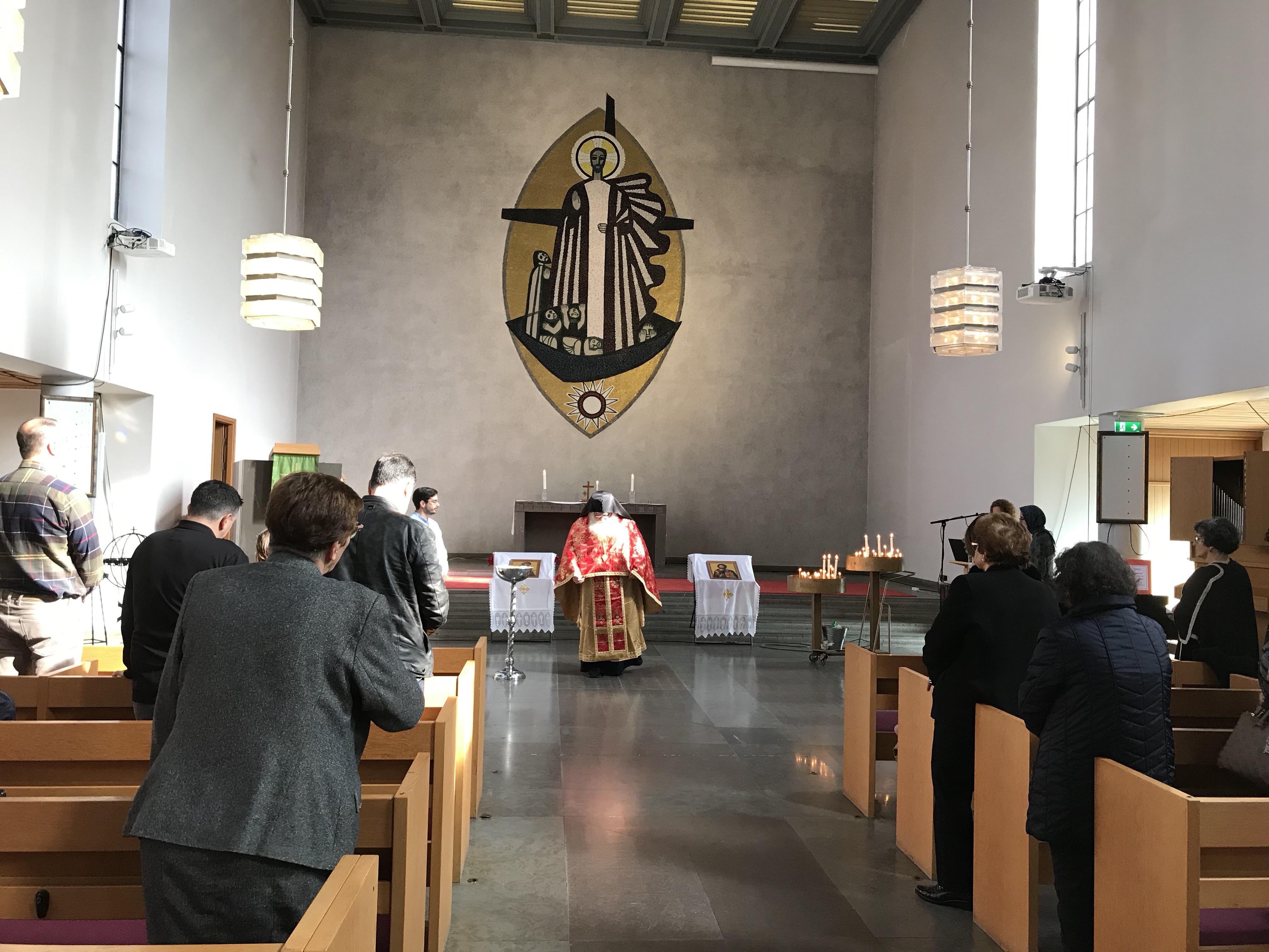 Θεία Λειτουργία 28-09-2019 Πατήρ Ευγένιος