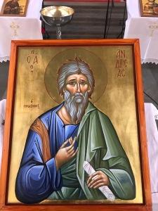 Ιερή Αγιογραφία Αγίου Ανδρέα
