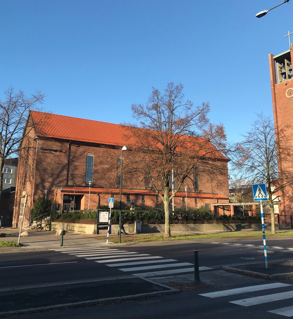 Εξωτερική άποψη του ναού St. Maria kyrka
